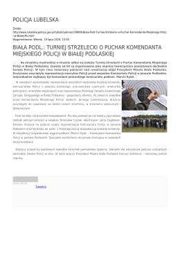 Generuj PDF - Policja Lubelska