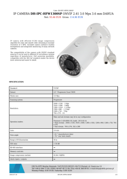 IP CAMERA DH-IPC-HFW1300SP ONVIF 2.41 3.0