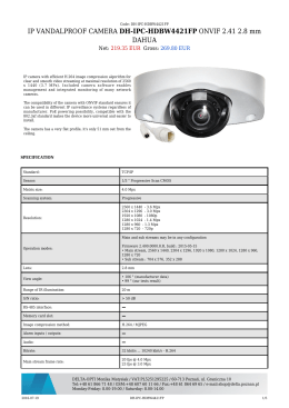 IP VANDALPROOF CAMERA DH-IPC-HDBW4421FP