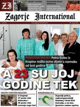 PONOSNA MAJKA Petra Golec iz Krapine rodila osmo dijete u