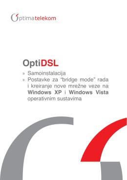 OptiDSL - Upute za samoinstalaciju routera Dlink