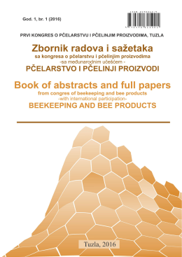 beekeeping and bee products