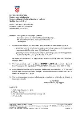 Javni poziv-ŽUC-2autobusna stajališta - Brodsko