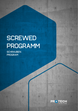 SCREWED PROGRAMM