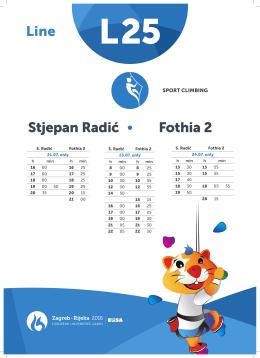 Line Stjepan Radić Fothia 2