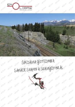 Katalóg Špeciálna geotechnika, sanácie svahov a