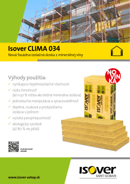 Isover CLIMA 034