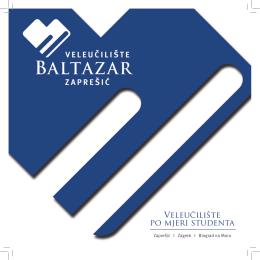 Preuzmi brošuru Veleučilišta Baltazar
