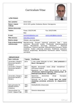 mr. Armin Avdić