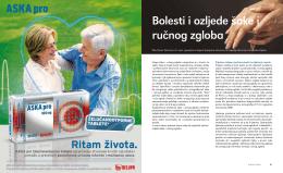 dr. Damir Starčević - Bolesti i ozljede šake