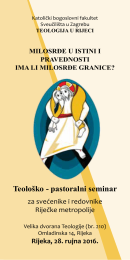 Teološko - pastoralni seminar