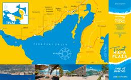 Mapa plaža