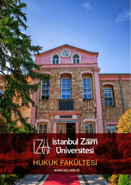 İZÜ Hukuk Fakültesi Hakkında En Güncel Bilgiler