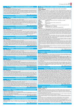 tc istanbul 3. fikri ve sınai haklar hukuk mahkemesi`nden ilan tc