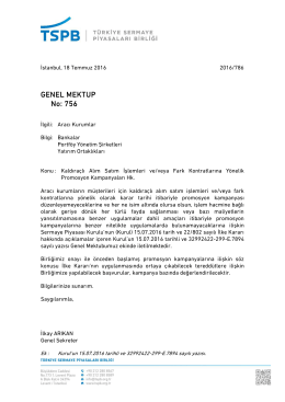 Genel Mektup 756