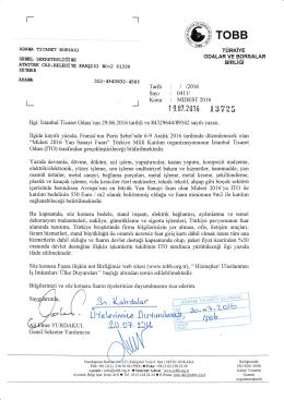 Sayı : 041ll l - Adana Ticaret Borsası
