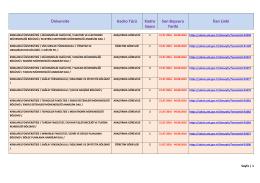 Kırklareli Üniversitesi Öğretim Görevlisi, Araştırma Görevlisi, Uzman