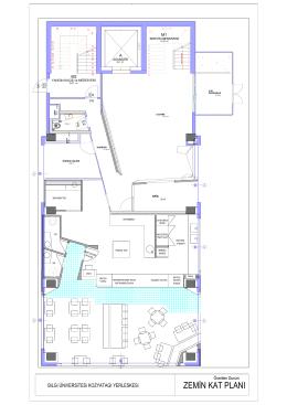 zemin kat planı - İstanbul Bilgi Üniversitesi