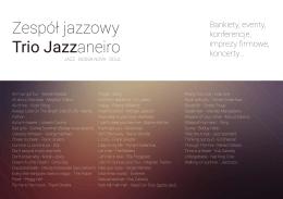 Repertuar - Trio Jazzaneiro