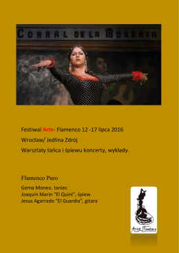 + zobacz - Arte Flamenco