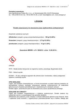 Pobierz etykietę - Agrii Polska sp. z oo