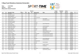 Pobierz Wyniki - Sport-Time