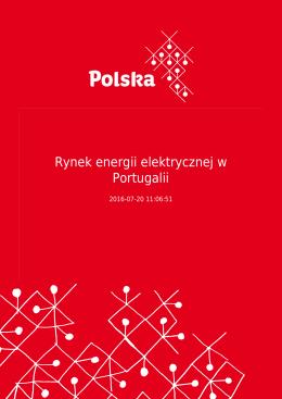 Rynek energii elektrycznej w Portugalii