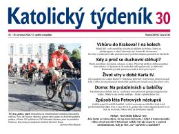 Vzhůru do Krakova! I na kolech