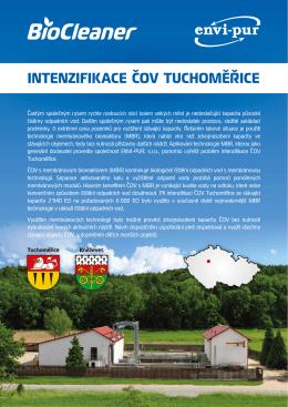 Intenzifikace ČOV Tuchoměřice - ENVI-PUR