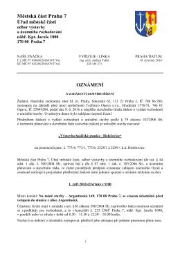 032286_2016 OZN o zahajeni rizeni