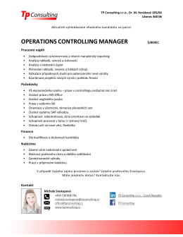 operations controlling manager