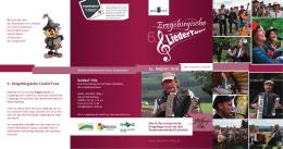 6. Ergebirgische LiederTour