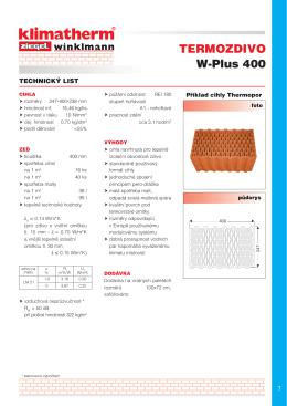 W-Plus 400 TERMOZDIVO