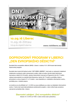 Doprovodný program EHD 2016.pages