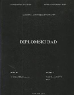 Diplomski – Bar kod