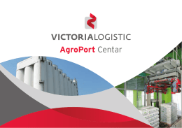 AgroPort Centar - victoria logistic