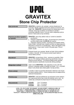 gravitex - U-POL