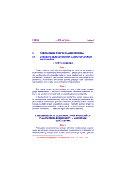 Vazduhoplovni propisi
