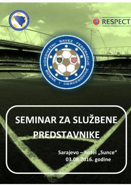 program seminara za službene predstavnike 2016