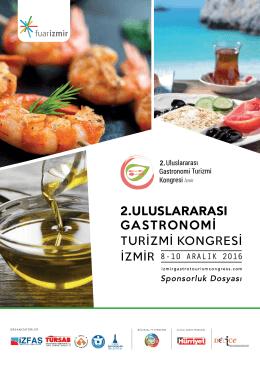 sponsorluklar - Uluslararası Gastronomi Turizmi Kongresi