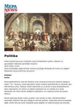 Politika - Mepa News