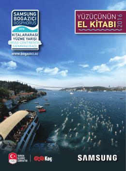 el kitabı 2016 - Samsung Boğaziçi Kıtalararası Yüzme Yarışı