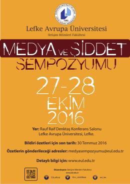 30 Temmuz 2016 Ö - Lefke Avrupa Üniversitesi