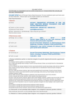 Dosya Görüntüle - Kocaeli Üniversitesi
