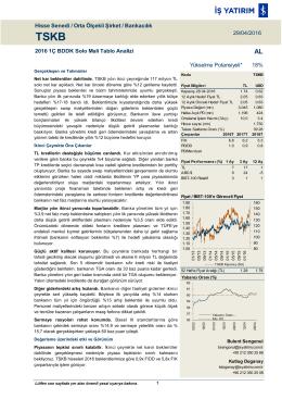 TSKB - İş Yatırım