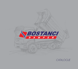 catalogue - BOSTANCI DAMPER
