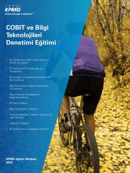 COBIT ve Bilgi Teknolojileri Denetimi (PDF 1,7MB)