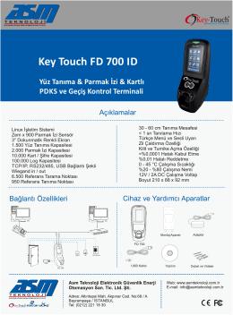 Key Touch FD 700 ID