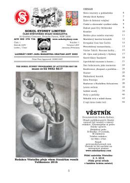 Vestnik Unor 2016