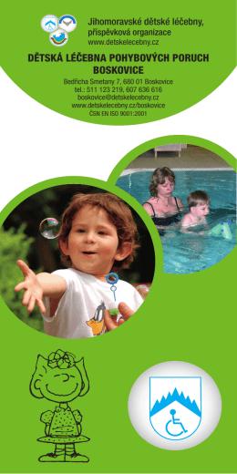 Dětská léčebna pohybových poruch boskovice